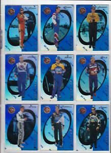 1997 Pinnacle Certified MIRROR BLUE PARALLEL #10 Ricky Rudd SCARCE!