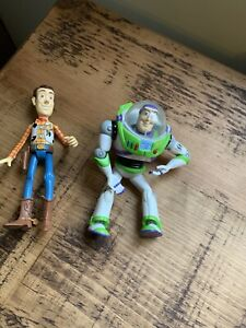 Small Buzz Lightyear & Woody Figures Toy Story