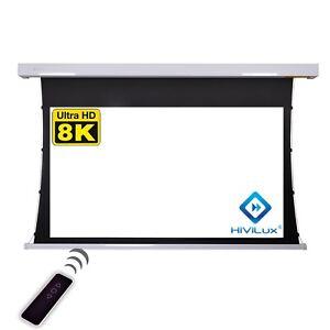 """HiViLux Tab-Tension Canvas/Screen 120 """" 265x149cm 4K-Tuch/G = 1,0/3D/2D/"""