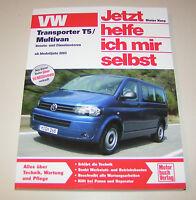 Reparaturanleitung VW T5 Transporter / Multivan  Benziner und Diesel - ab 2003