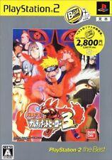 Naruto Narutimett Hero 3 Playstation The Best (2007) Brand New Japan PS2 Import
