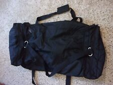 Lot of 4 Outdoor Products~2 HUGE Duffle Bags & 2 Small Pouches~Black~Canvas