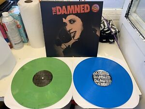 The Damned BBC Sessions LIMITED TO 100 COPIES!!! Green & Blue Vinyl 2xLP Records