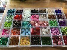 Job lot of glass beads