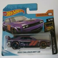 Dodge Challenger Drift Car Hot Wheels 2019 Nightburnez 6/10 Mattel