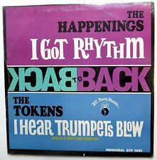 the HAPPENINGS The TOKENS Back to back LP SEALED Pop Rock 1967   Mg372