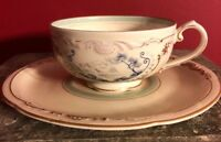 Vintage Royal Bayreuth Germany US Zone Teacup and Saucer