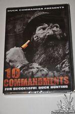 Duck Commander Calls DVD - The TEN COMMANDMENTS For Successful Duck Hunting