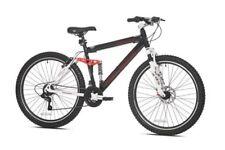 Mens Mountain Bike Full Suspension Bikes 27.5 21 Speed Bicycles Men Shimano Seat