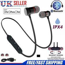 Sans fil écouteurs Bluetooth Casque Sweatproof Sport Gym pour tous les mobiles UK