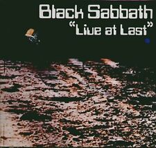 "BLACK SABBATH "" LIVE AT LAST "" LP NUOVO IMMACOLATO  NEMS - MADE IN IRELAND 1980"