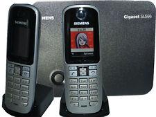 DUO Siemens Gigaset S3 S 3 Profesional TELÉFONO 2x Auricular+Cargador+Base