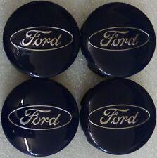 4 x original Ford Nabendeckel Satz Felgendeckel Set Nabenkappen center hub cap