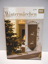 Winter FairyTale Christmas Cross Stitch Patterns RICO Design #108