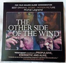 THE OTHER SIDE OF THE WIND FYC Michel Legrand Best Original Score Golden Globe