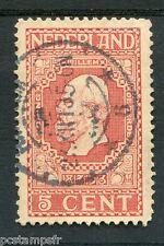 PAYS-BAS - 1913, timbre CLASSIQUE 84, GUILLAUME III, oblitéré, VF stamp