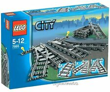LEGO CITY - PUNTOS, VÍAS DE CAMBIO SET 7895 - NUEVO SIN ABRIR