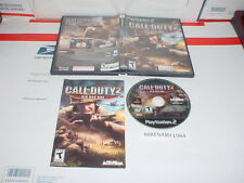 CALL OF DUTY 2: BIG RED ONE game complete in case for Playstation 2 PS2
