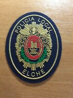 SPAIN VALENCIA PATCH POLICE POLICIA LOCAL ELCHE - ORIGINAL!