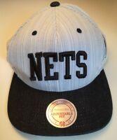 MITCHELL & NESS NEW YORK BROOKLYN NETS NBA CAP