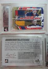 2011-12 ITG Ultimate Mason Khabibulin 1/1 boys are back GOLD 1 of 1 JETS