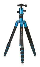 MeFOTO RoadTrip Convertible Tripod Kit with 5 Section Aluminium Legs - Blue
