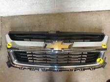 2015 - 2020 Chevrolet Colorado Grille Chrome OEM 15 16 17 18 84408363
