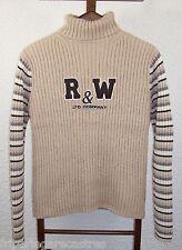 Joli PULL Ado RIVER WOODS, Laine et Coton, Taille XL Ado (14-16 ans) - (PH_186)