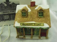Dept. 56-Heritage Village New England Village General Store-1986, Box & Cord