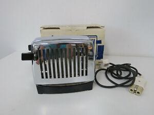 SIEMENS TT10 -  Klapp-Toaster -  chrom Vintage - volle Funktion mit Kabel