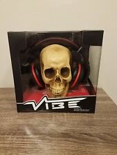 Vibe Black Death Over-Ear Headphones