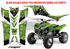 AMR RACING DEKOR GRAPHIC KIT ATV KAWASAKI KFX 450 & 700 REAPER B
