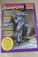 Moto Crampons Magazine N° 122 Du 01/05/1995 - Trial - Comparatif 600 4t - Honda