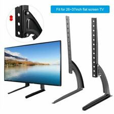 "Universal Table Top TV Stand Base VESA Pedestal Mount 26""-37"" LCD for Samsung LG"