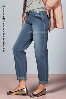 New Womens Blue Boyfit NEXT Jeans Size 20 18 16 14 12 10 8 Long Reg Petite RP£35