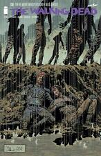 IMAGE COMICS THE WALKING DEAD #130 SIGNED BY CHARLIE ADLARD with COA WHISPERERS