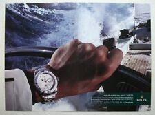 ROLEX Oyster  - Perpetual Explorer II - WATCH ADVERT 14 x 10 INCH WALL ART