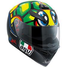 Helmet AGV K3 Sv Tartaruga Mugello 2013 Gr : Ml Sport Intergral Rossi + Pinlock