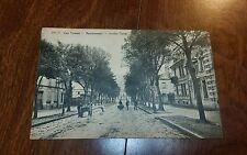 Vintage Postcard Real Photo Avenue Carnet Remiremon Les Vosges Carte Postale