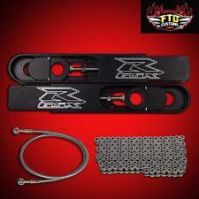 "2000 GSXR 750 Swingarm Extenisions Kit 12"" Stretch,Chain & 36"" Brake Line"