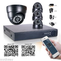 8CH 960H HDMI DVR NVR 2in1 700TVL Outdoor 24IR CCTV Camera Home Security System