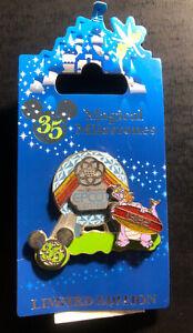 Disney Trading Pin 1982 Epcot Opens Dinosaur Magical Milestones Day Series LE