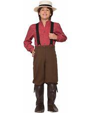 Pioneer Boy Child Settler Colonist Explorer Halloween Costume-M