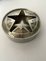 Marlboro Texas Lone Star Stainless Steel Ashtray with Lid  Brand New