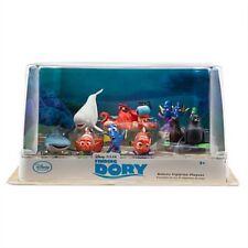 Disney Store Finding Dory Deluxe 9 Figure Set Playset Pixar Nemo Gerald BNIB