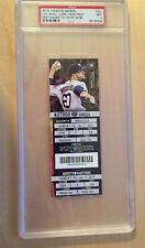 MIKE TROUT Youngest To 100 HR/100 SB FULL TICKET Apr. 17, 2015 PSA Mint 9
