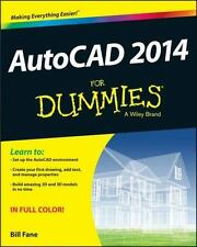 AutoCAD 2014 For Dummies (Autocad for Dummies), Fane, Bill, Good Book