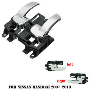 Left and Right Car Interior Door Handle For Nissan Qashqai QASHQAI 2007-2013