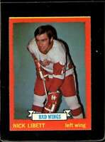 1973-74 TOPPS #49 NICK LIBETT VGEX RED WINGS  *X2245