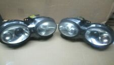 JAGUAR X TYPE GENUINE HELLA HEAD LIGHTS LEFT & RIGHT + NEW ADJUSTERS RHD LHD FIT